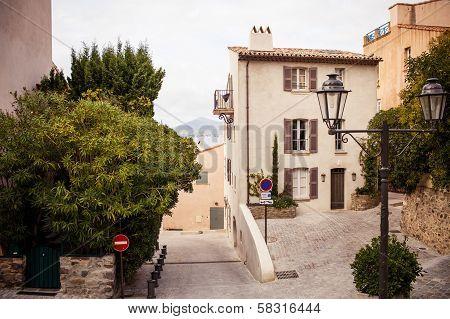 Street in Saint Tropez