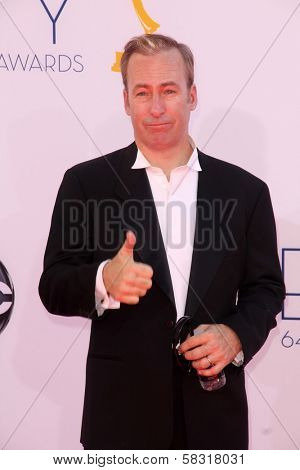 Bob Odenkirk at the 2012 Primetime Emmy Awards Arrivals, Nokia Theater, Los Angeles, CA 09-23-12