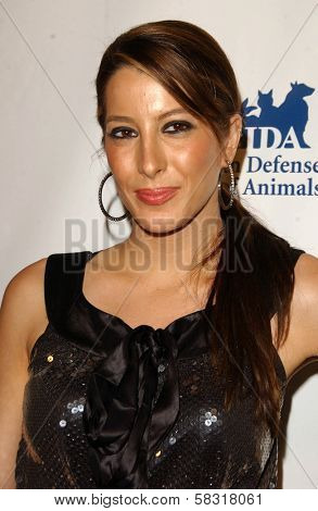Princess Tamara Czartoryski-Borbon at the In Defense of Animals Benefit Concert. Paramount Theater, Hollywood, CA. 02-17-07