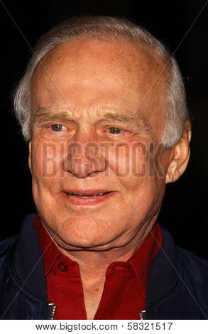 Buzz Aldrin at the world premiere of
