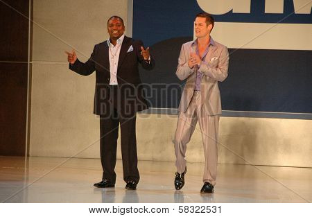 Mekhi Phifer and Shane West inside at the 2006 GM TEN Fashion Show. Paramount Studios, Hollywood, CA. 02-20-07