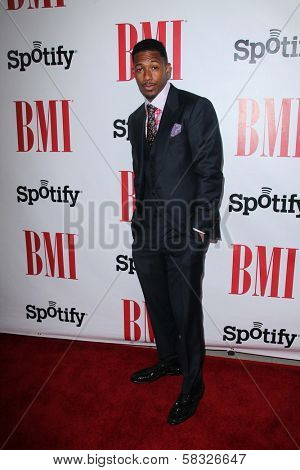 Nick Cannon at the 2012 BMI Urban Awards, Saban Theatre, Beverly Hills, CA 09-07-12