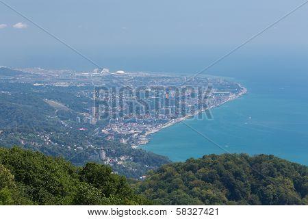 Cityscape Of Adler