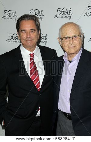 Beau Bridges, Norman Lear at Theatre West's 50th Anniversary Gala, Taglyan Cultural Center, Hollywood, CA 09-13-12