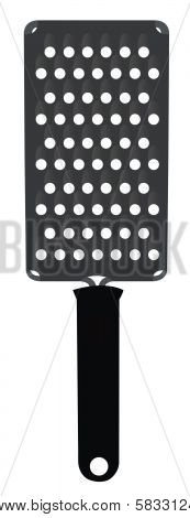 Illustrated Cheese Grater