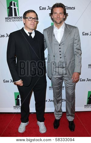 David O' Russell and Bradley Cooper at the 16th Annual Hollywood Film Awards Gala, Beverly Hilton Hotel, Beverly Hills, CA 10-22-12