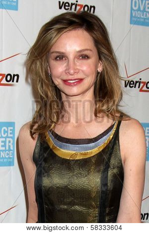 Calista Flockhart at the 41st Annual Peace Over Violence Humanitarian Awards, Beverly Hills Hotel, Beverly Hills, CA 10-26-12