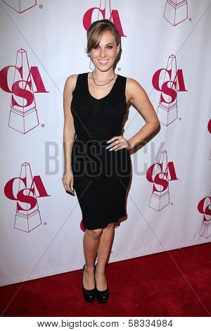 Georgie Jacobs at the Casting Society of America Artios Awards, Beverly Hilton, Beverly Hills, CA 10-29-12
