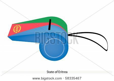 A Whistle Of The State Of Eritrea