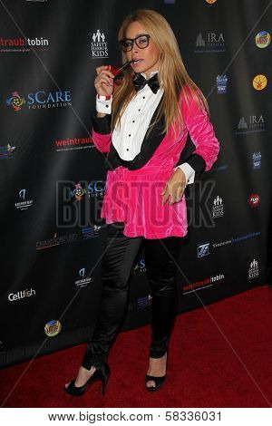 Faye Resnick at sCare Foundation's 2nd Annual Halloween Benefit Event, Conga Room, Los Angeles, CA 10-28-12