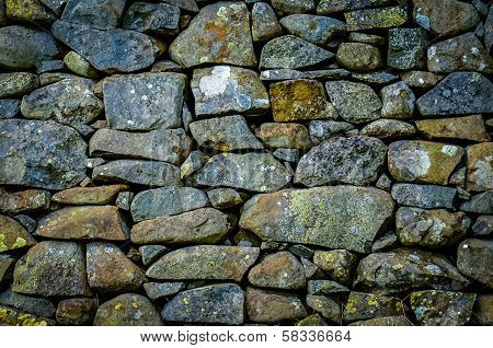 Rustic Stone Wall Texture