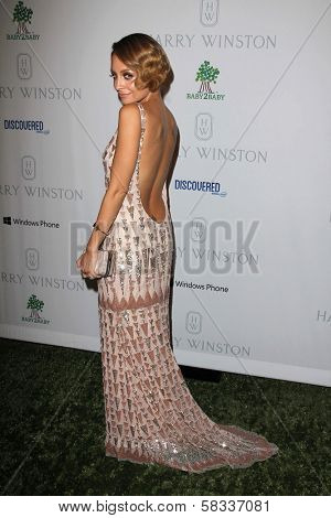 Nicole Richie at the First Annual Baby2Baby Gala Presented by Harry Winston, Book Bindery, Culver City, CA 11-03-12