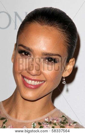 Jessica Alba at the First Annual Baby2Baby Gala Presented by Harry Winston, Book Bindery, Culver City, CA 11-03-12