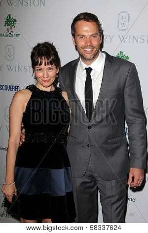 Natasha Gregson Wagner, Barry Watson at the First Annual Baby2Baby Gala Presented by Harry Winston, Book Bindery, Culver City, CA 11-03-12