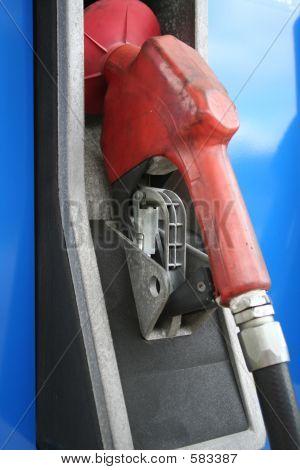 Red Gas Pump