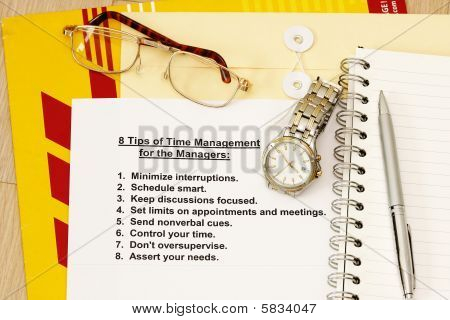 Eight Tips For Time Management For Managers