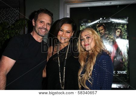 Michael Biehn, Tia Carrere, Jennifer Blanc at