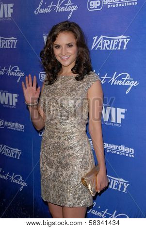 Rachael Leigh Cook at the Variety and Women In Film Pre-Emmy Event, Scarpetta, Beverly Hills, CA 09-21-12