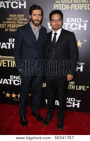 Jake Gyllenhaal, Michael Pena at the