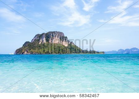 View Of Andaman Sea In Thailand