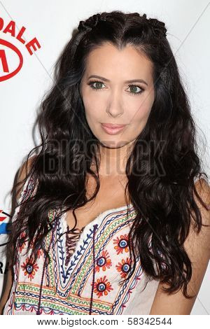 Amy Weber at the
