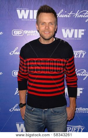 Joel McHale at the Variety and Women In Film Pre-Emmy Event, Scarpetta, Beverly Hills, CA 09-21-12