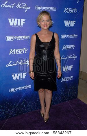Amy Poehler at the Variety and Women In Film Pre-Emmy Event, Scarpetta, Beverly Hills, CA 09-21-12