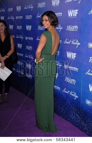 Morena Baccarin at the Variety and Women In Film Pre-Emmy Event, Scarpetta, Beverly Hills, CA 09-21-12