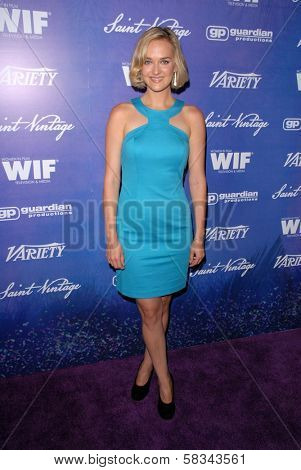 Jess Weixler at the Variety and Women In Film Pre-Emmy Event, Scarpetta, Beverly Hills, CA 09-21-12