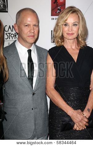 Ryan Murphy, Jessica Lange at the Premiere Screening of FX's