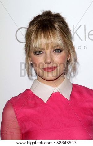 Emma Stone at the Elle Magazine 17th Annual Women in Hollywood, Four Seasons, Los Angeles, CA 10-15-12