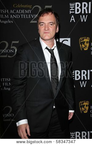 Quentin Tarantino at the 2012 BAFTA LA Britannia Awards, Beverly Hilton, Beverly Hills, CA 11-07-12