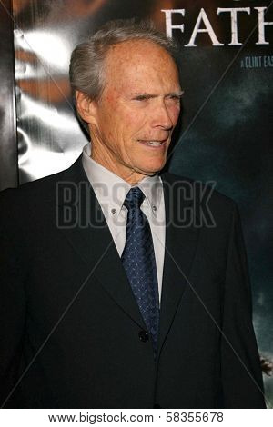 """Clint Eastwood at the premiere of """"Flags of Our Fathers"""". Academy of Motion Picture Arts and Sciences, Beverly Hills, CA. 10-09-06"""