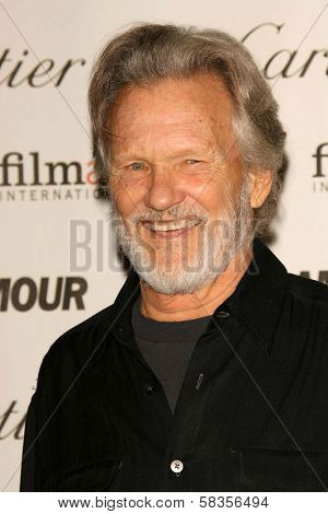 Kris Kristofferson at the Glamour Reel Moments Short Film Series presented by Cartier. Directors Guild of America, Los Angeles, CA. 10-16-06
