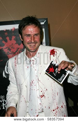 David Arquette at the World Premiere of