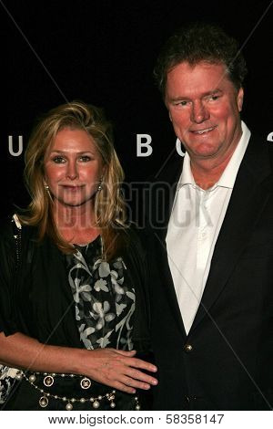 Kathy Hilton and Rick Hilton at Hugo Boss's