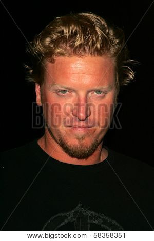 Jake Busey at Hugo Boss's