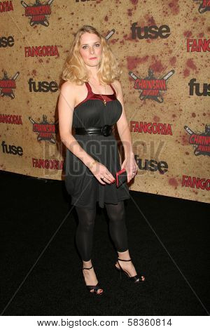 Shauna Macdonald at the Fuse Fangoria Chainsaw Awards. Orpheum Theatre, Los Angeles, CA. 10-15-06