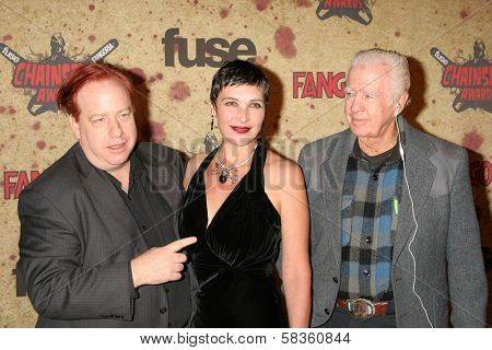 John Gulager and family at the Fuse Fangoria Chainsaw Awards. Orpheum Theatre, Los Angeles, CA. 10-15-06
