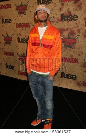 Travis McCoy at the Fuse Fangoria Chainsaw Awards. Orpheum Theatre, Los Angeles, CA. 10-15-06