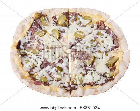 Pizza Manzo