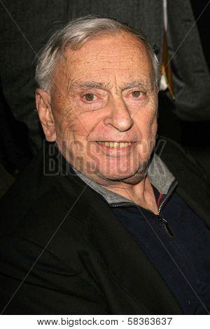 Gore Vidal at the premiere of