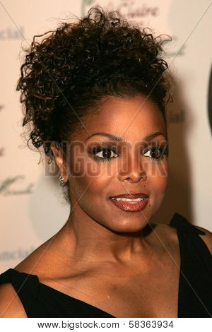 Janet Jackson at the 9th Annual Benefit for the Lili Claire Foundation. Beverly Hilton Hotel, Beverly Hills, CA. 10-14-06