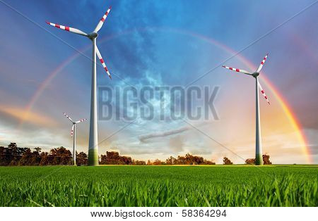 Wind Power Plant - Eco Energy