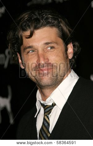 Patrick Dempsey at the William Rast Spring 2007