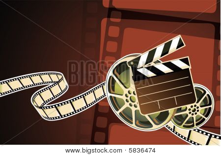 abstract film  background