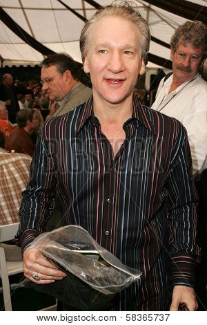 Bill Maher at 2006 Safari Brunch Fundraiser For The Wildlife Waystation. Playboy Mansion, Los Angeles, CA. 10-14-06