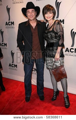 Clint Black and Pam Tillis at the 6th Annual ACM Honors, Ryman Auditorium, Nashville, TN 09-24-12