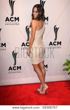 Jana Kramer at the 6th Annual ACM Honors, Ryman Auditorium, Nashville, TN 09-24-12