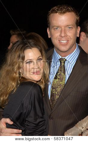 Drew Barrymore and McG  at the premiere of